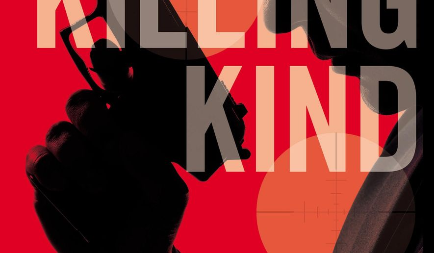 "This photo provided by Mulholland Books/Little, Brown and Company shows the cover of the book, ""The Killing Kind,"" by author Chris Holm. (Mulholland Books/Little, Brown and Company via AP)"
