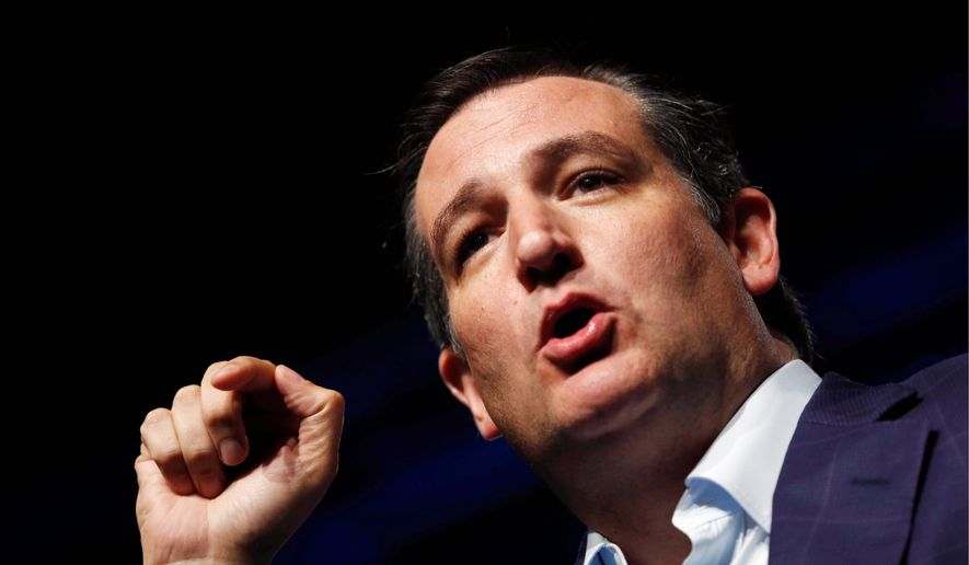Republican presidential candidate Sen. Ted Cruz is hoping to capture his third straight straw poll victory at this weekend's annual gathering of social conservatives. The straw poll win would send the message social conservatives' pick for the 2016 Republican presidential primary. (The Des Moines Register via Associated Press)