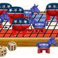 Illustration on the presidential race so far by Alexander Hunter/The Washington Times