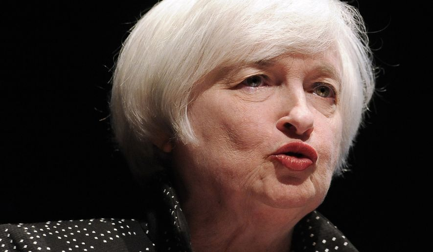 Janet Yellen, the chairwoman of the Federal Reserve, was delivering the annual Gamble Memorial Lecture in Amherst, Mass., when she had her medical difficulties, according to Reuters news agency. (Associated Press)