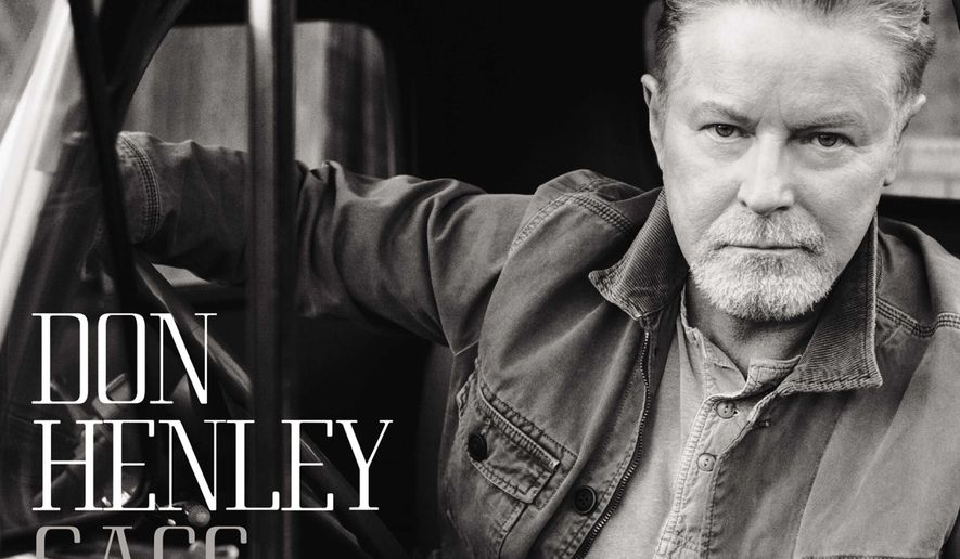 "This CD cover image released by Capitol Records shows ""Cass County,"" the latest release by Don Henley. (Capitol via AP)"