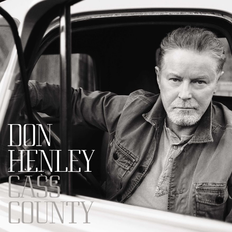 """This CD cover image released by Capitol Records shows """"Cass County,"""" the latest release by Don Henley. (Capitol via AP)"""