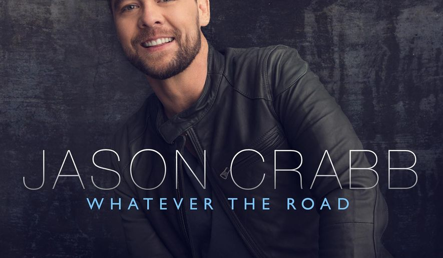"""This CD cover image released by Reunion Records shows """"Whatever the Road,"""" by Jason Crabb. (Reunion Records via AP)"""