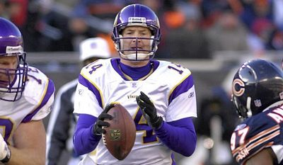 Brad Johnson played for seventeen seasons in the NFL. Which team did he not lead?