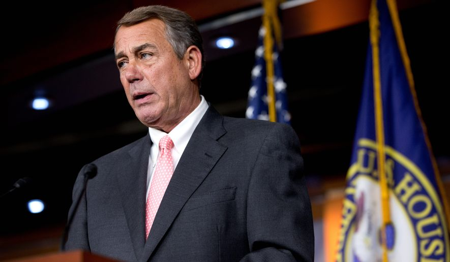 House Speaker John A. Boehner's retirement announcement caught all of his colleagues off guard. (Associated Press)