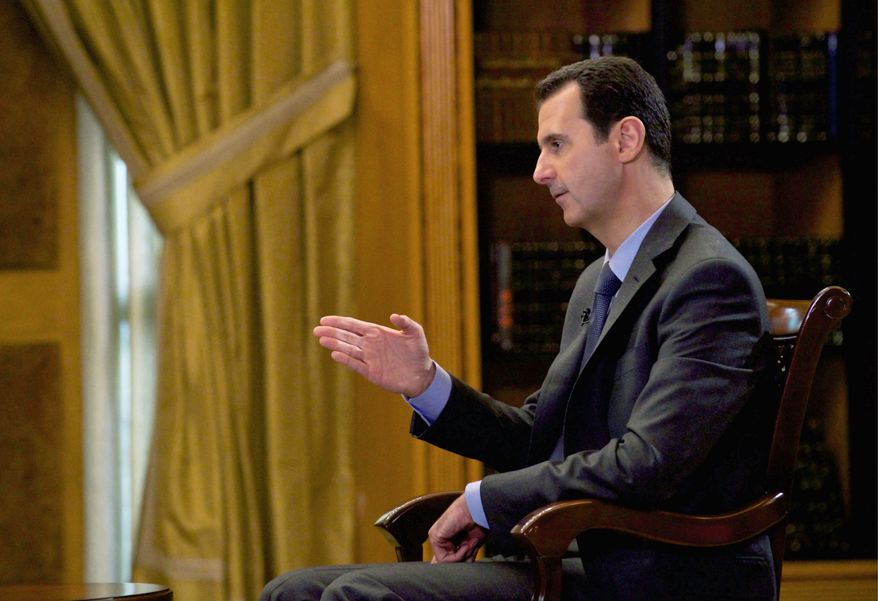 Syrian President Bashar Assad's fate may lie in a compromise between Mr. Putin and President Obama that would let him stay for the short term.