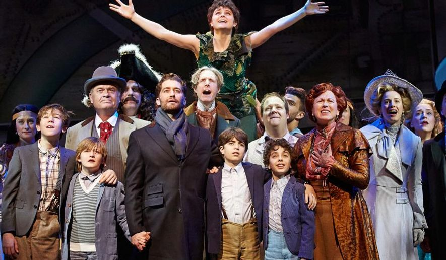 "In this image released by Kornberg PR, Melanie Moore portrays Peter Pan in the musical ""Finding Neverland."" The Fox TV show, ""So You Think You Can Dance,"" which just concluded its 12th season, has turned into a reliable springboard for scores of Broadway dancers. Moore, the Season 8 winner, went on be Peter Pan in ""Finding Neverland"" and next has a featured part in ""Fiddler on the Roof."""