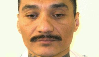 This undated photo provided by the Virginia Department of Corrections shows inmate Alfredo Prieto. (Virginia Department of Corrections via AP)