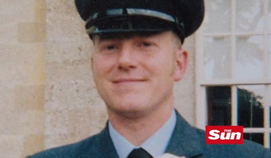 """A U.K. hospital said staff members were acting """"in good faith"""" when they asked Royal Air Force Sgt. Mark Prendeville to move out of a public waiting room so his uniform would not offend other patients. (The Sun, courtesy of Mark Prendeville)"""