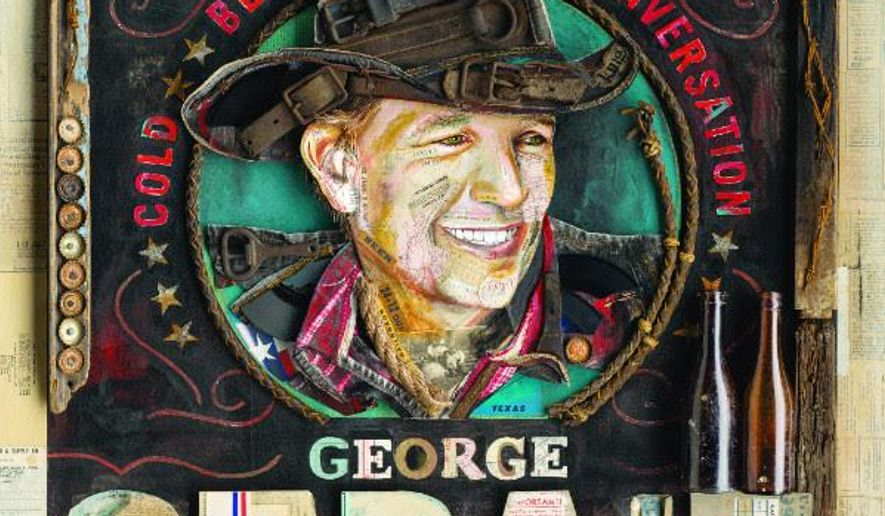 "This CD cover image released by MCA Nashville shows ""Cold Beer Conversation,"" by George Strait. (MCA Nashville via AP)"