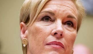 "Planned Parenthood Federation of America President Cecile Richards listens to a question while testifying on Capitol Hill in Washington, Tuesday, Sept. 29, 2015, before the House Oversight and Government Reform Committee hearing on ""Planned Parenthood's Taxpayer Funding.""  (AP Photo/Jacquelyn Martin)"
