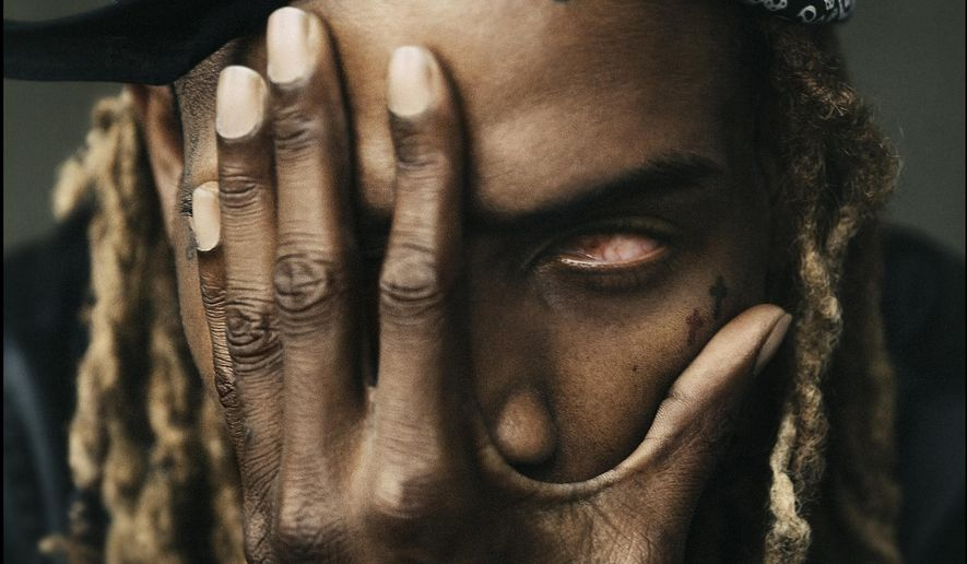 This CD cover image released by 300 Entertainment shows the self-titled album for Fetty Wap. (300 Entertainment via AP)