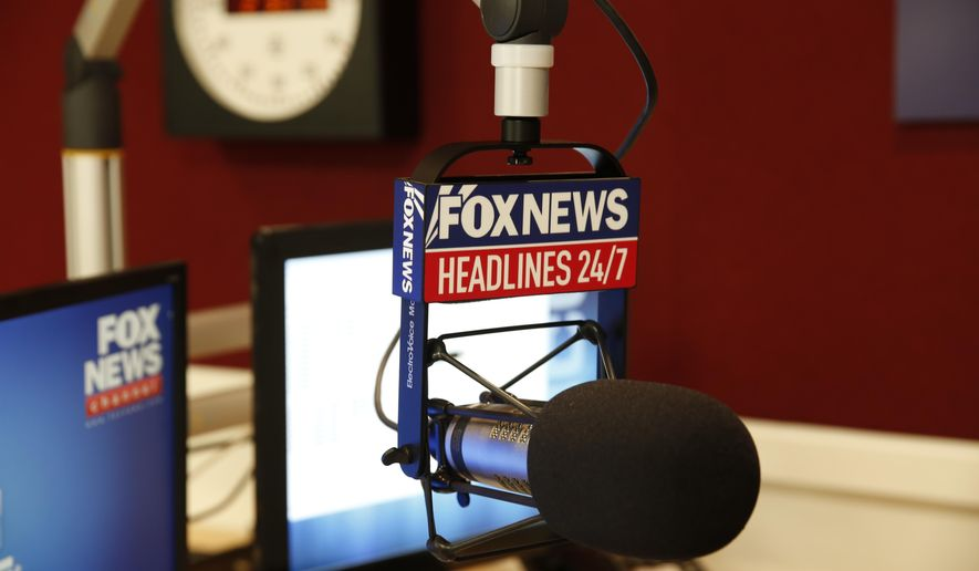 This image released by Fox News Channel shows the new studio for their 24-hour news service, in New York. Fox News Headlines 24/7 will introduce SiriusXM subscribers to a top stories continuously updated and repeated in 15-minute increments. The station will also be streamed online and available to people through an app that can be paid for separately from Sirius' main service. he service, to launch Oct. 5, is Fox's most high-profile new business venture since the Fox Business Network was started in 2007. (Fox News Channel via AP)