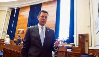 """It was a tactic designed to intimidate and embarrass me and, frankly, it is intimidating,"" said House Oversight and Government Reform Committee Chairman Rep. Jason Chaffetz, Utah Republican, of action by Secret Service agents to access and distribute his personal information. (Associated Press)"