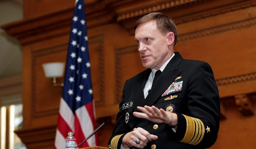 Navy Adm. Mike Rogers (Associated Press)