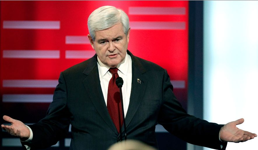 A suggestion from columnist Jonah Goldberg: Newt Gingrich for House Speaker, even as a temporary (AP Photo)