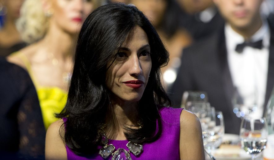 The steps Hillary Rodham Clinton has taken to raise the profile of top aide Huma Abedin in the campaign include using her prominently in a fundraising email and deploying her to Twitter for the first time. (Associated Press)