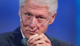 Despite considerable political baggage, former President Bill Clinton may convince some voters to support his wife. (Associated Press)