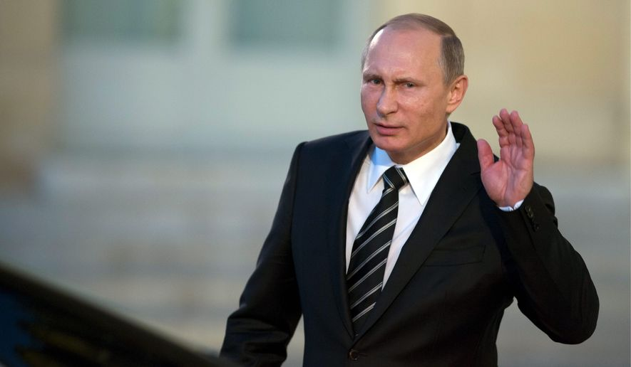 Russian President Vladimir Putin is engaging with the world community. He said he wants to be remembered as the man who restored his country's greatness. (Associated Press)