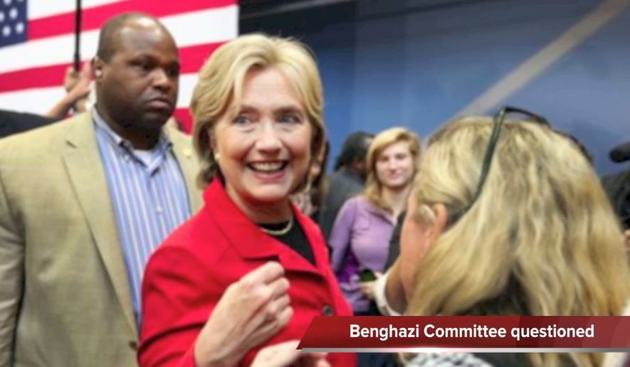 Tim Constantine reports on Hillary Clinton's take on the Benghazi committee, and a look at how she and Bernie Sanders are polling in Iowa and New Hampshire.