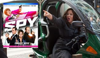 """Melissa McCarthy stars as an action hero in """"Spy"""" from 20th Century Fox Home Entertainment, ow available in Blu-ray."""