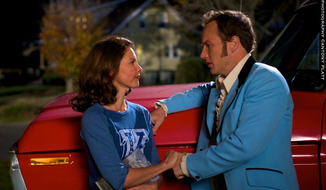 "Patrick Wilson (right) stars with Ashley Judd in ""Big Stone Gap,"" which opens Friday.  (altaridentity.com)"