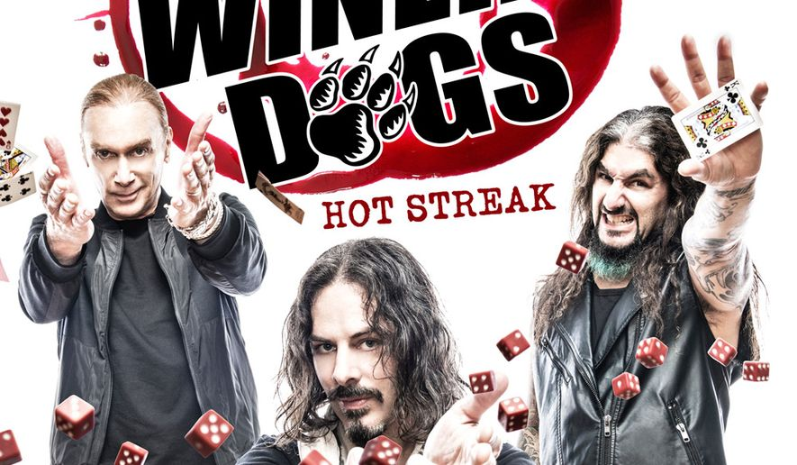 The Winery Dogs, left to right, are Billy Sheehan, Ritchie Kotzen and Mike Portnoy.  (loudandproudrecords.com)