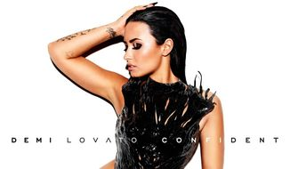 "Demi Lovato's new album ""Confident"" album cover."