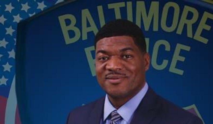 Baltimore Police Department spokesman Chief T.J. Smith. ** FILE **