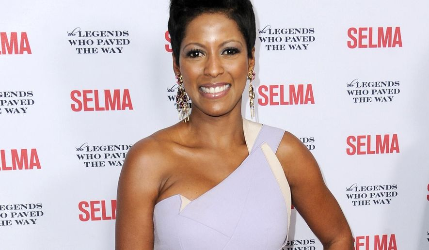 FILE - In this Dec. 6, 2014 file photo, Tamron Hall arrives at Selma And The Legends That Paved The Way Gala in Goleta, Calif. Temple University trustees are expected to vote next week on naming NBC correspondent Tamron Hall to fill a seat on the board vacated by Bill Cosby last year. Cosby resigned from the board in December following renewed allegations that he drugged and sexually assaulted women over many years. (Photo by Richard Shotwell/Invision/AP, File)