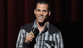 """Jackass"" star Steve-O was sentenced Wednesday to 30 days in jail for climbing at least 100 feet up a crane in Hollywood in a protest against SeaWorld that drew dozens of emergency responders. (Associated Press)"