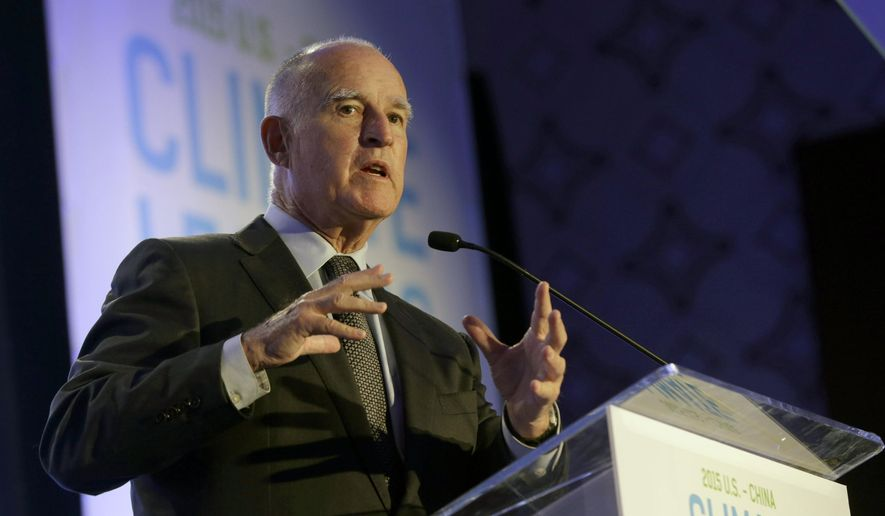 California Gov. Jerry Brown. (AP Photo/Nick Ut, File)