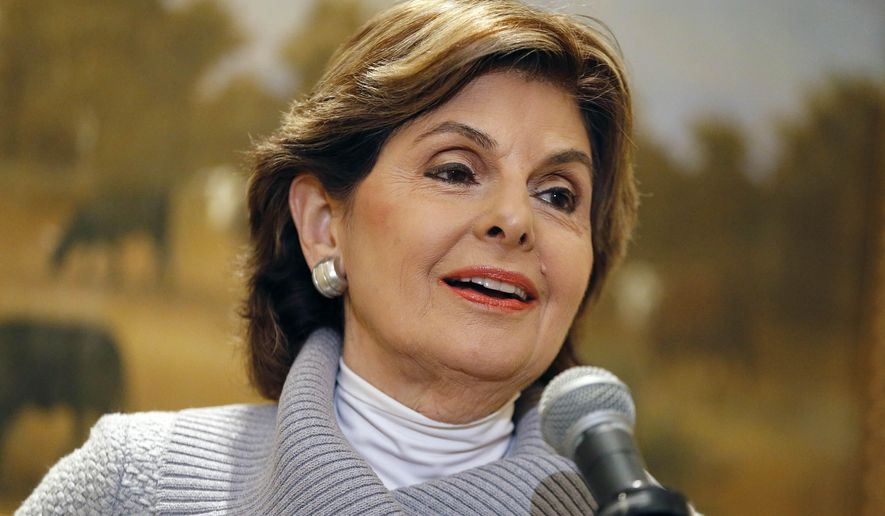 Attorney Gloria Allred makes a statement regarding Friday's deposition of comedian Bill Cosby during a news conference at the Omni Parker House Hotel in Boston, Saturday, Oct. 10, 2015. (AP Photo/Michael Dwyer)