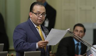 Sponsored by Democratic Assemblymember Luis Alejo, Assembly Bill 30 easily cleared the state Assembly and Senate, despite objections from those who called it a local control issue. (Associated Press)