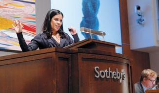 Gabriela Palmieri: Photo Courtesy Sotheby's