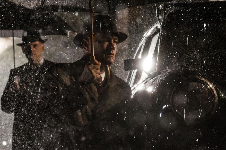 "In this image released by Disney, Tom Hanks appears in a scene from ""Bridge of Spies."" (Jaap Buitendijk/DreamWorks Pictures/Fox 2000 PIctures via AP)"