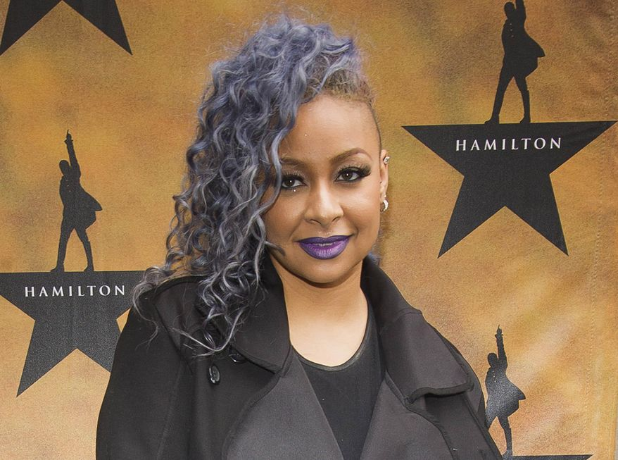 """Raven-Symone attends the Broadway opening night of """"Hamilton"""" at the Richard Rodgers Theatre in New York in this Aug. 6, 2015, file photo. (Photo by Charles Sykes/Invision/AP, File)"""