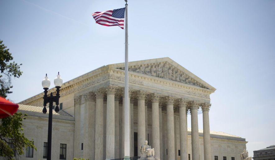 The U.S. Supreme Court building in Washington. (AP Photo/Pablo Martinez Monsivais/File)