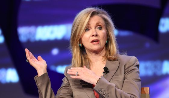 Rep. Marsha Blackburn, Tennessee Republican (Associated Press) **FILE**