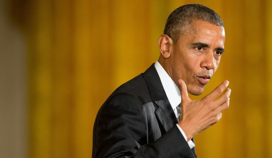 """""""I don't think it posed a national-security problem,"""" President Obama told an interviewer for the CBS program """"60 Minutes"""" regarding Hillary Rodham Clinton's email controversy. (Associated Press)"""