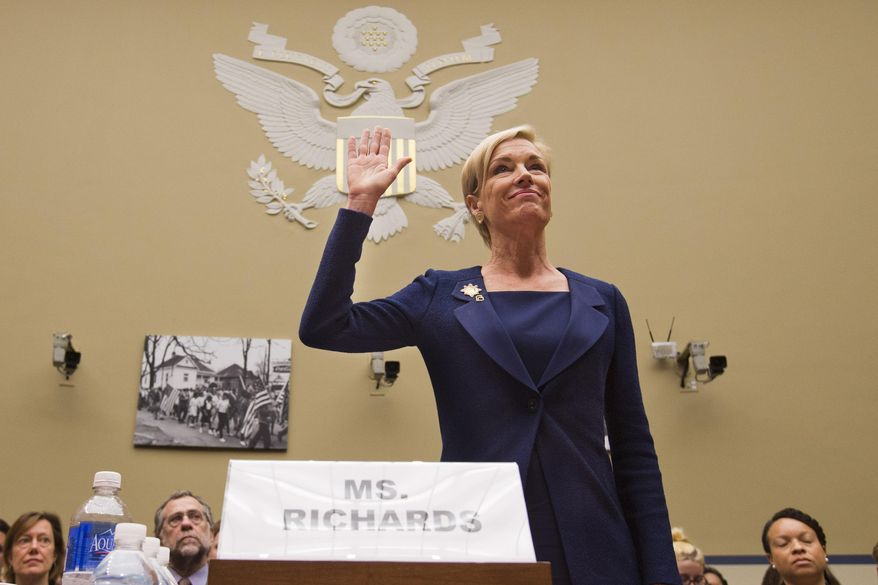Cecile Richards, president of Planned Parenthood Federation of America, called the new policy an effort to end the scandal over what she has called edited and misleading videos. (Associated Press)