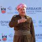 Kurdistan Regional President Masoud Barzani. (Associated Press) ** FILE **
