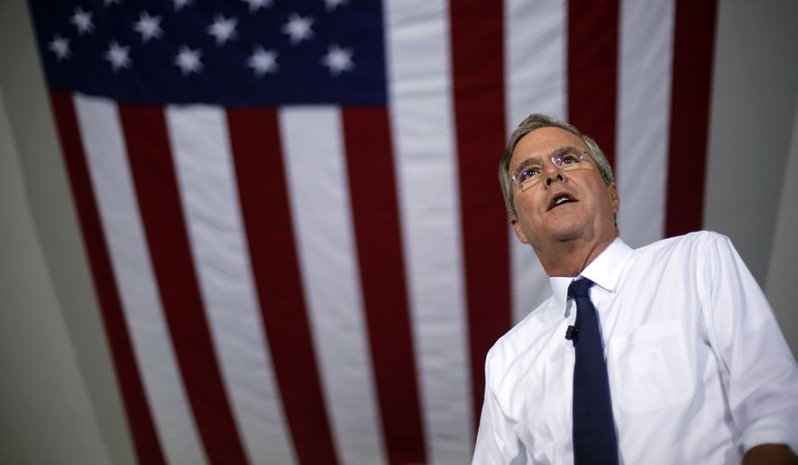 As former Florida Gov. Jeb Bush struggles to cut through the crowded 2016 GOP presidential field, analysts say he's running a campaign that's too formulaic, echoing a broader critique of him as a throwback candidate at a time when many voters are looking to move on. (Associated Press)