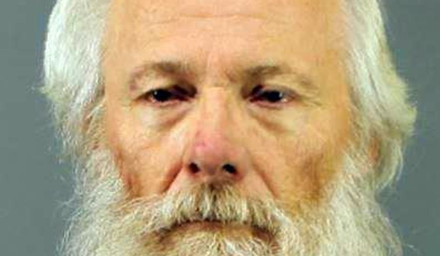 In this undated photo provided by the New Hartford Police Department in New Hartford, N.Y., Bruce Leonard is shown. Leonard and his wife, Deborah Leonard of Clayville, N.Y., have been charged with first-degree manslaughter in the beating death of their 19-year-old son, Lucas. (New Hartford Police Department via AP)
