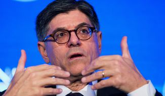 Treasury Secretary Jack Lew told Congress the government will run out of borrowing room on Nov. 2, forcing another deadline showdown on Capitol Hill. (Associated Press)