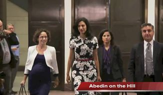 Tim Constantine reports on Huma Abedin's appearance before the House Select Committee on Benghazi, CNBC revising details of the next GOP debate to ensure Donald Trump and Ben Carson would participate, and a new concert event by Roger Waters.