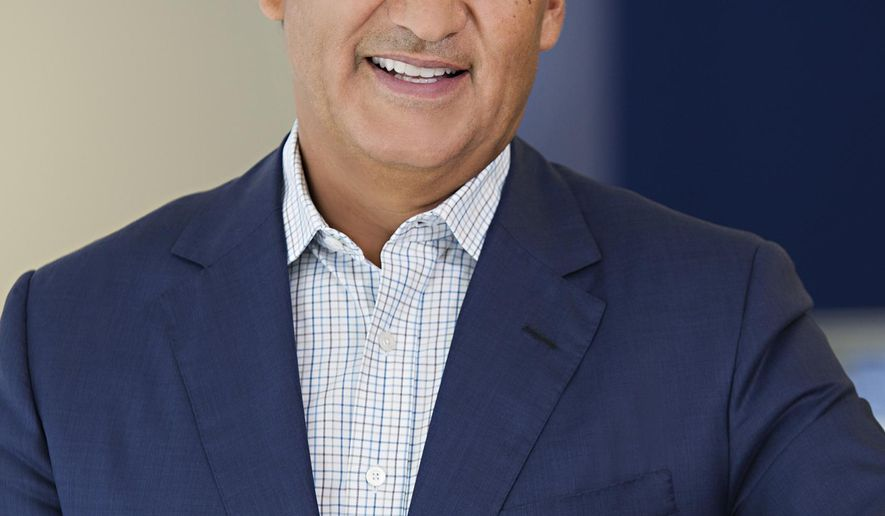 FILE - This undated file photo provided by United Airlines shows the company's CEO, Oscar Munoz. United Airlines on Friday, Oct. 16, 2015 said that Munoz has been admitted to a hospital. The airline gave no explanation or details of his condition. (United Airlines via AP, File)