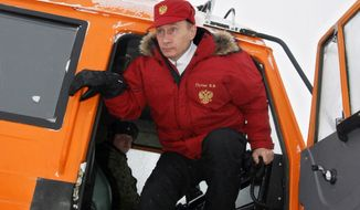 Russian President Vladimir Putin is determined to be a player as the Arctic opens to prospectors. (Associated Press)