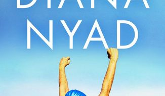 "This photo provided by courtesy of Knopf shows the cover of the book, ""Find A Way,"" by Diana Nyad. (Courtesy Knopf via AP)"