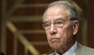 Sen. Chuck Grassley (Associated Press/File) ** FILE **